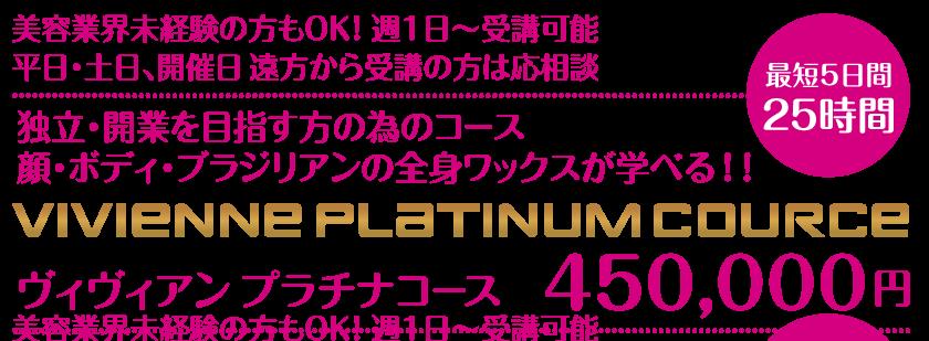 Vivienne【大阪・南堀江・ヴィヴィアン】スクール_ヴィヴィアンプラチナコース